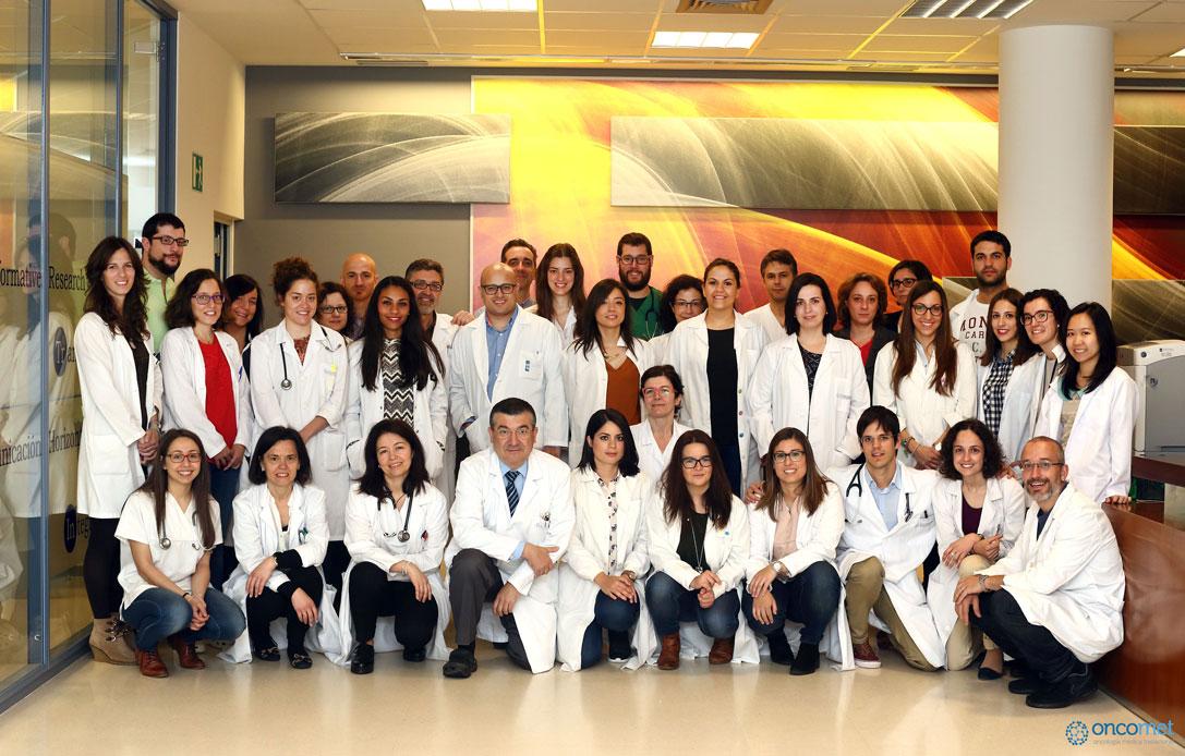 Equipo de trabajo del Grupo de Oncología Médica Traslacional del Instituto de Investigación Sanitaria de Santiago de Compostela (IDIS)
