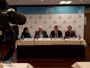 Inauguración oficial  y Rueda de Prensa del III Simposio Biopsia Líquida